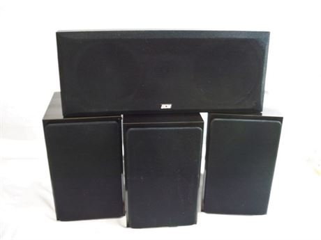 4 SPEAKER LOT - NHT AND DCM
