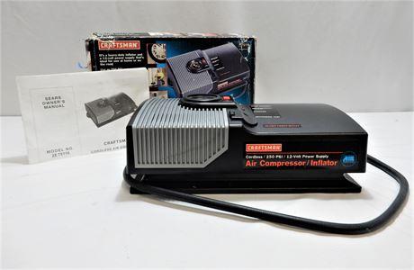 Craftsman Cordless 250 PSI Air Compressor/Inflator