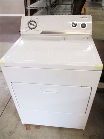 WHIRLPOOL ELECTRIC DRYER MODEL WED5540SQ0