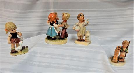 Set of Three Vintage Collectible Kelvin & Goebel Figurines