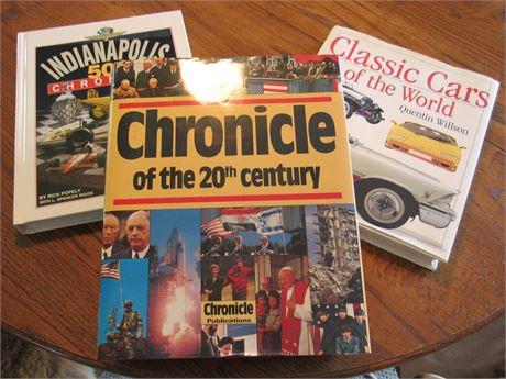 Coffee Table Book Lot - 3 Books