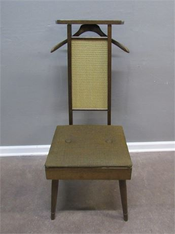 Vintage Mid Century The Setwell Co. Men's Butler Valet Chair