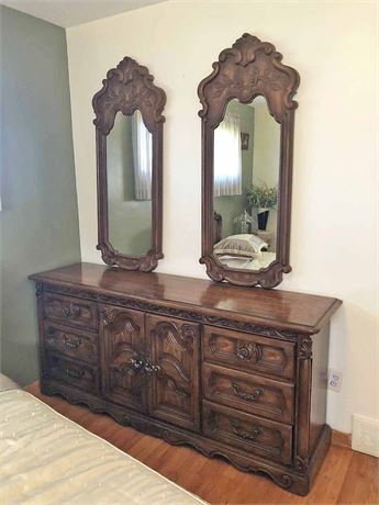 Stanley Mirrored Bedroom Dresser