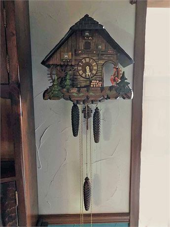 Edelweiss Swiss Movement Cuckoo Clock