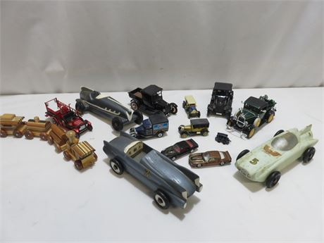 Die Cast & Wooden Car Collection