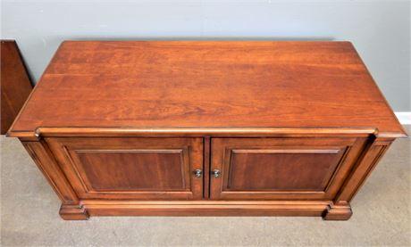 Vintage Ethan Allen Storage/Electronics Cabinet