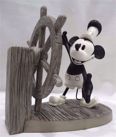 """1997 Steamboat Willie """"Mickey's Debut"""" Figurine"""