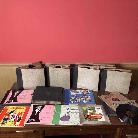 78 Record Album Lot