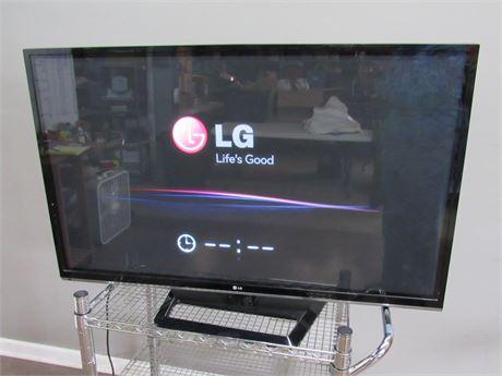 "LG 50"" Plasma TV with Remote"