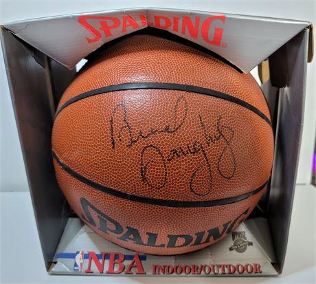 Brad Daugherty Signed Official NBA Basketball