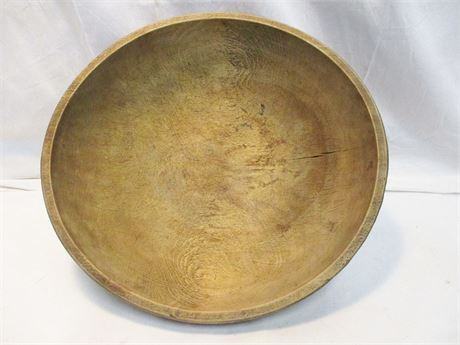 LARGE PRIMITIVE DOUGH BOWL