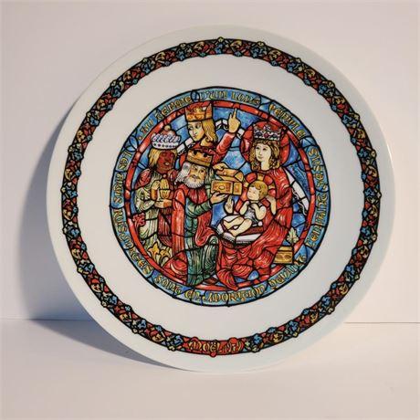 """D'Arceau Limoges """"L' Adoration Des Rois"""" Collector Plate"""