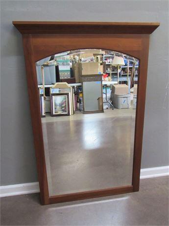 Ethan Allen Beveled Glass Mirror