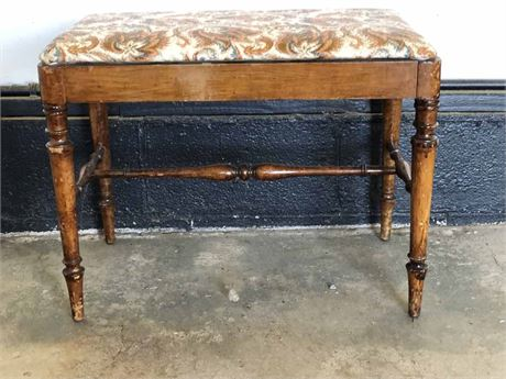 Vintage Padded Bench