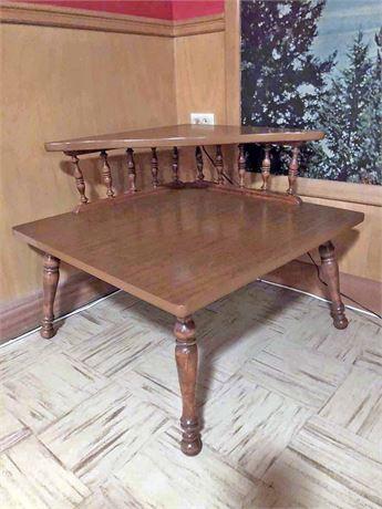 Baumritter Corner Coffee Table