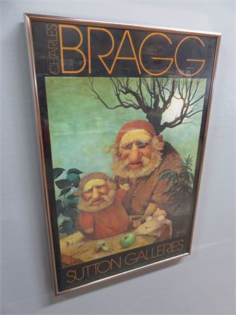 "CHARLES BRAGG ""The Sixth Day"" Sutton Galleries Promo Print"
