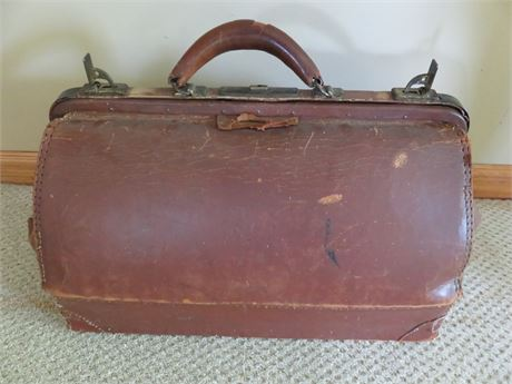 Vintage Leather Physician's Bag