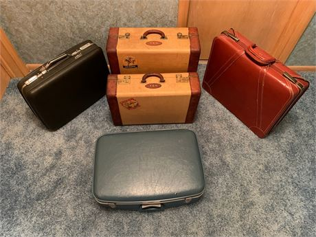Vintage Luggage Lot