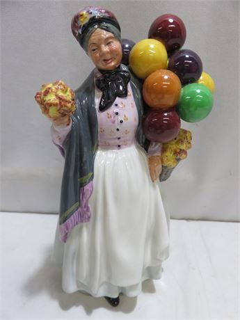 1937 ROYAL DOULTON Biddy Penny Farthing Figurine