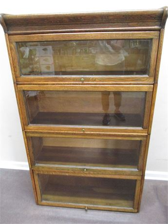 GENUINE HUMPHREY WIDMAN BARRISTER BOOKCASE