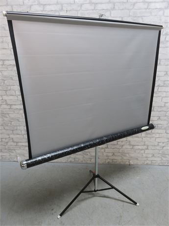 Vintage Fotocrest Movie Projection Screen