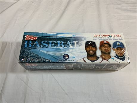2011 Topps SEALED Factory Set