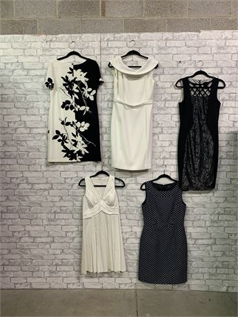 All Eyes on Her, And  Again . Lot of 5 Stunning Dresses