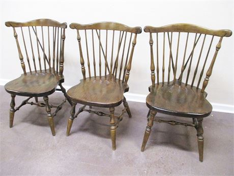 LOT OF THREE ETHAN ALLEN CHAIRS
