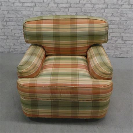 Comfy Swivel Arm Chair