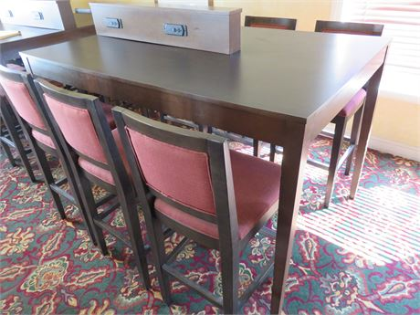 High Top Pub Table & Chairs Set