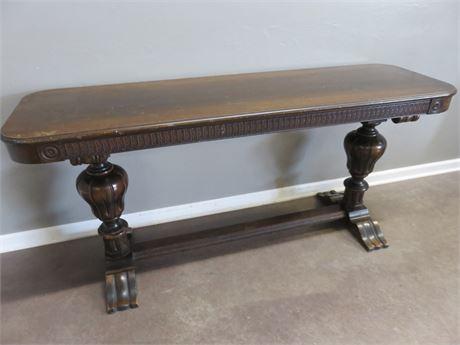Vintage Pine Sofa Table
