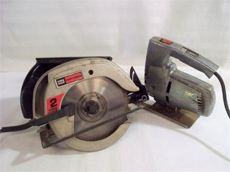 2 CORDED ELECTRIC POWER TOOLS