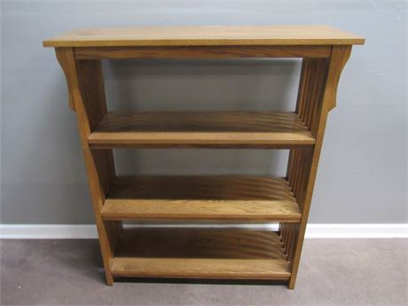 Mission Style 3-Tier Bookcase