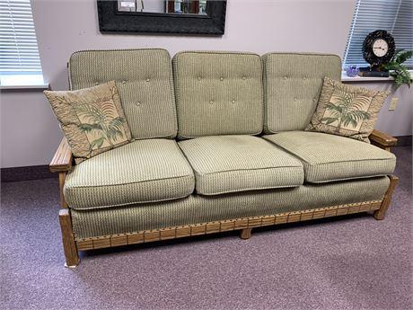 Rustic, Lodge Style Sofa