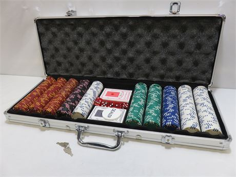 BCG Poker Chip Set