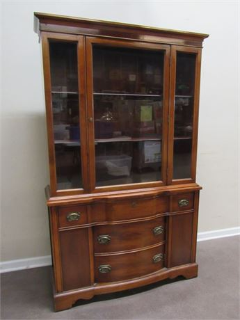 GREAT LOOKING VINTAGE CHINA HUTCH