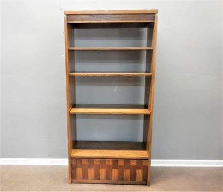 Vintage Lane Wood Bookshelf