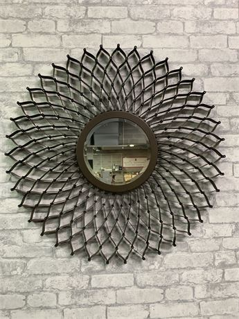 Metal Wall Décor, Hanging Mirror