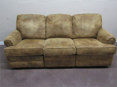 SMITH BROS. OF BERNE MICROSEUDE SOFA