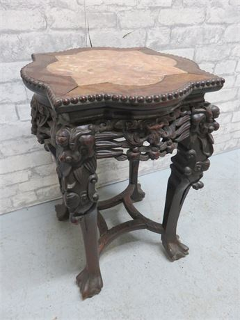 Antique Chinese Carved Table