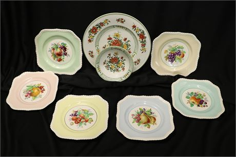 Fruit and Floral Dinnerware by Villeroy & Bach, Mettlach