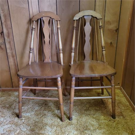 Fiddle Back Side Chairs