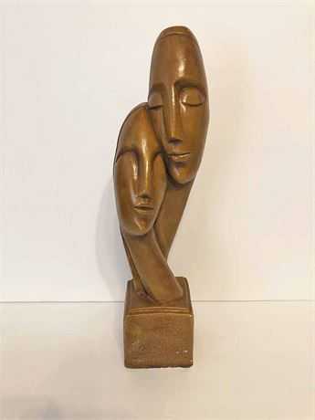 Carved Wood African Sculpture
