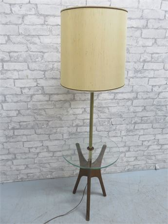 Vintage Mid-Century Lamp Table