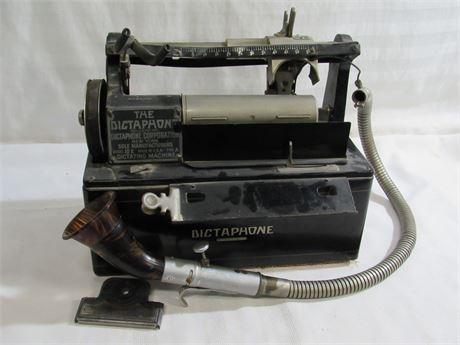 ANTIQUE DICTAPHONE - DICTAPHONE CORP. MODEL 10X TYPE A