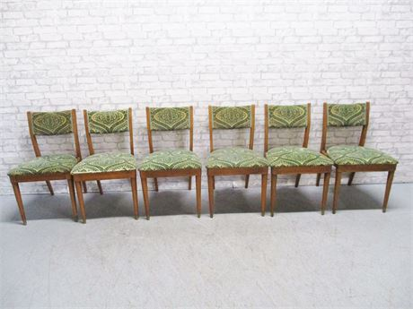 LOT OF 6 DREXEL MID CENTURY CHAIRS