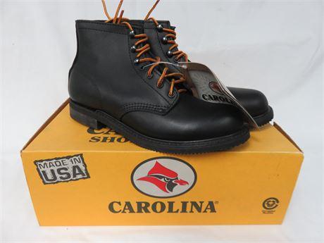 CAROLINA Men's Steel Toe Leather Work Boots - SIZE 8D