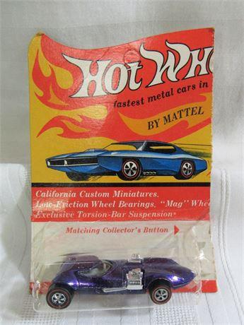 1969 Mattel Hot Wheels RedLine - Purple TwinMIll - NIP