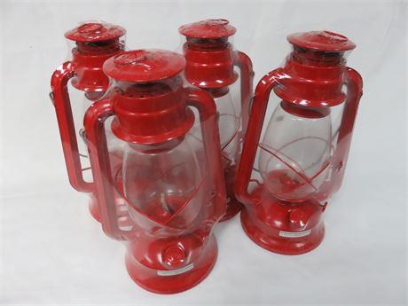 ROTHCO 4 Kerosene Lantern Lot