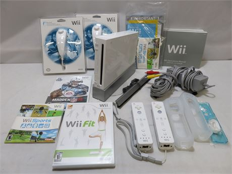NINTENDO Wii Video Game System